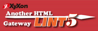 Another HTML-lint 5